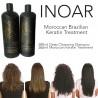 INOAR BRAZILIAN MOROCCAN KERATIN BLOW DRY TREATMENT HAIR STRAIGHTENING 400ML KIT